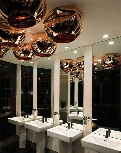 restaurant bathroom design modern bathroom design of barbecoa restaurant by speirs