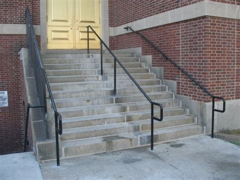 Pipe Railing Stair