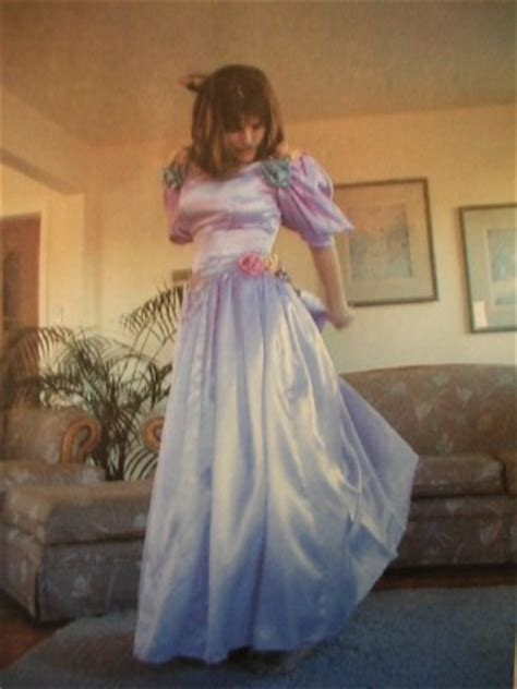 1980 prom styles 1980s style prom gown with roses time travel costumes