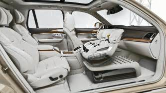 Volvo Xc90 Seats Volvo Xc90 Excellence Child Safety Seat Concept