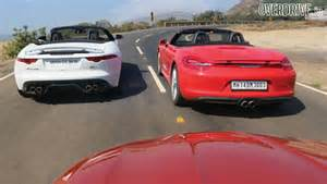 2014 jaguar f type v8s vs porsche boxster s vs bmw z4