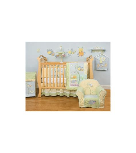kidsline snug as a bug 8 piece crib bedding set