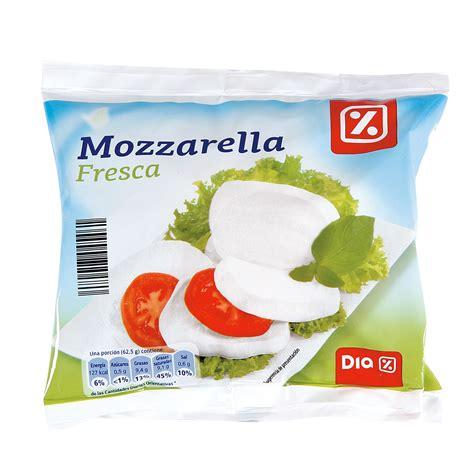 fresco dia dia queso mozzarella fresca bolsa 125 gr frescos y para