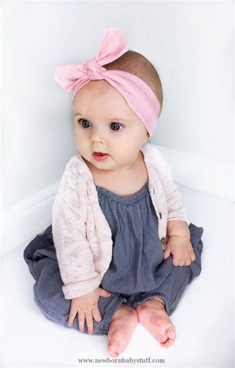 babies accessories baby accessories pink baby headband knotted baby
