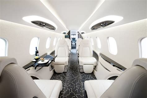 Jet Interiors by Luxury Jets Bellisima