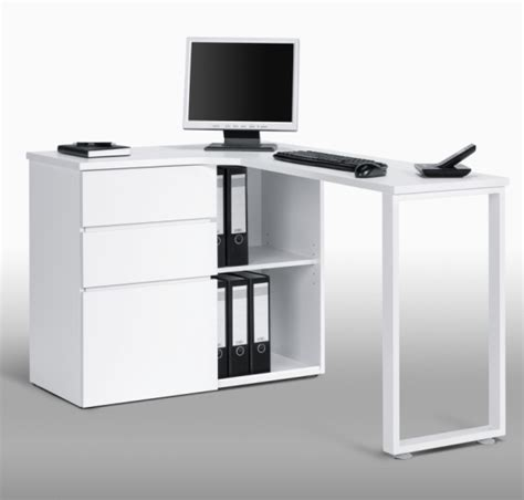 Corner Computer Desk With Storage Lacy Wooden Corner Computer Desks In White With Storage