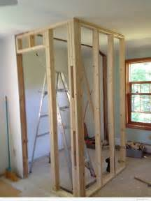 how to build a bedroom wall framing a walk in closet dianabuild