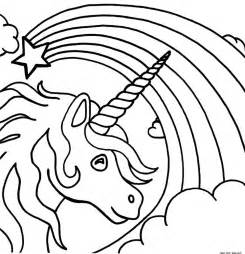 coloring pages pages printable cartoon tv coloring unicorn rainbow star pages color