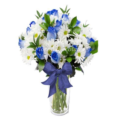 floreros santiago florero de rosas azules y maules flores y chocolates