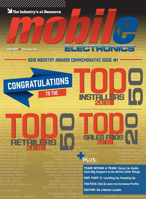 issuu mobile mobile electronics magazine july 2018 by mobile