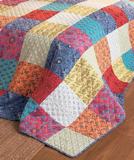 Bed Quilt Patterns by Bright Boho Chic Style Bed Quilt Beautiful