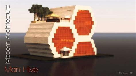 hive modern man hive modern architecture minecraft project