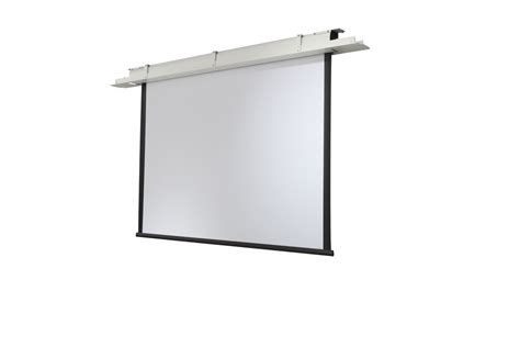 projector screen ceiling celexon ceiling recessed electric expert cree 220x165 matt