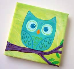 painting for small childrens 17 best ideas about owl canvas paintings on