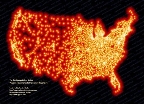 MALBOUFFE ? McDo vu du ciel, cartographie d?un empire   Big Browser
