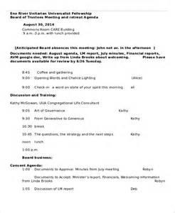 retreat agenda template 7 free word pdf documents