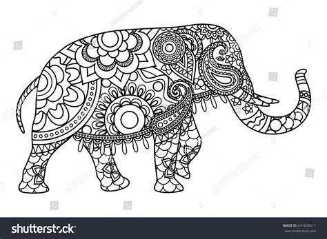 elephant coloring pages aztec designs 15 pics of tribal coloring pages printable aztec