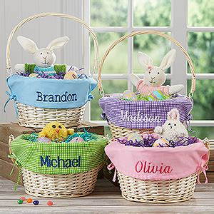 easter gifts for personalized easter baskets