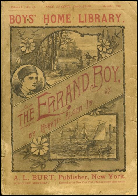 the errand boy books the horatio alger society