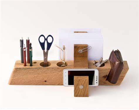 Etsy Desk by Large Desk Organizer Wood Office Organizer Desk By Lessandmore