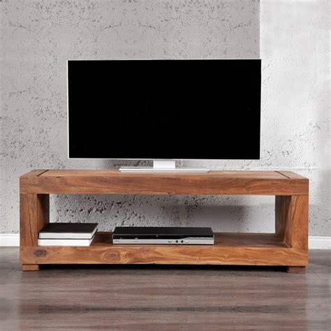 tv tisch modern tv tisch fernsehtisch mumbai aus sheesham massiv holz