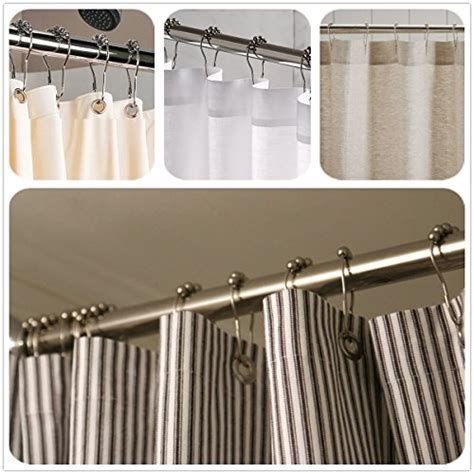 stainless steel shower curtain lihao 12 piece set rustproof stainless steel shower