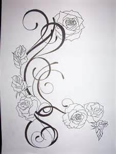 flower tattoo drawings flower tattoo design by tattoosuzette on deviantart