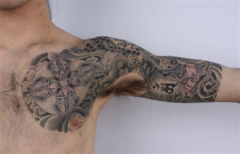 arm and chest tattoo 1000 images about tattoos nautical on