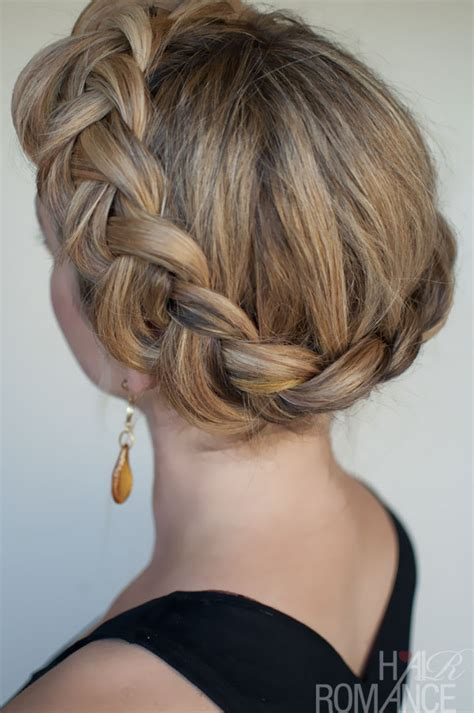 types of crown on for hair styles dutch crown braid simple casual dutch braid updo