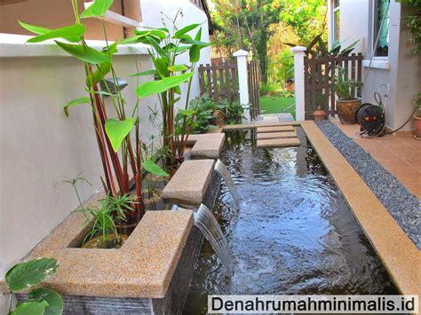 desain kolam ikan depan rumah minimalis taman rumah minimalis modern 2017 untuk hunian idaman