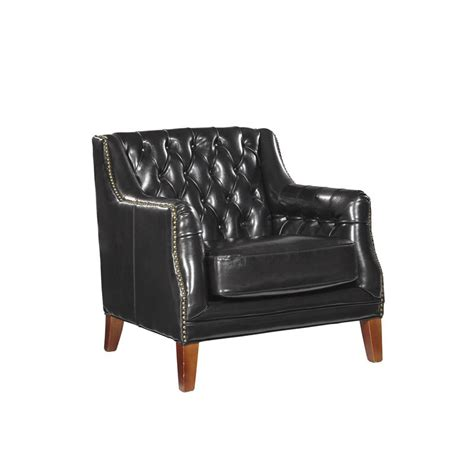 Cheap Tufted Chair by Furniture Classics 91 11701b Occasional Chairs Black
