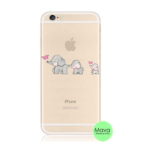 Casing Cover Hp Iphone 6 Iphone 6s Baby Skin Ultra Thin Bla 1 baby elephant iphone 6s 6 plus se 5s 5 soft clear mavasoap