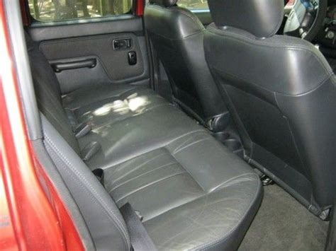 2001 nissan frontier seats sell used 2001 nissan frontier crew cab v6 se 4wd in luray