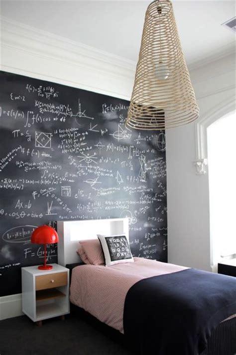 amazing bedroom  chalkboard wall godfather style