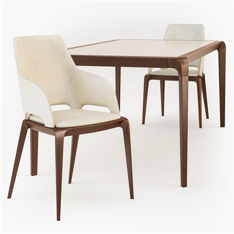 roche bobois dining table 3d roche bobois brio dining table model