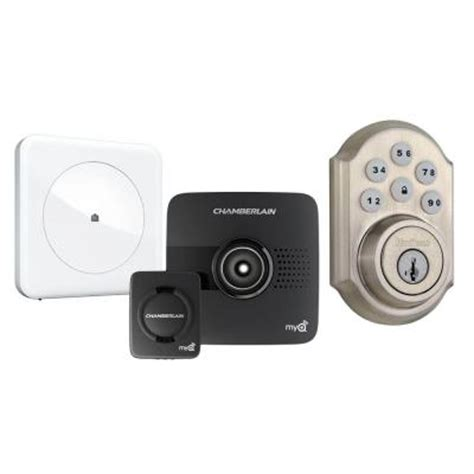 wink home automation bundle with hub chamberlain garage