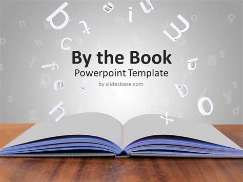 powerpoint tutorial book by the book powerpoint template slidesbase