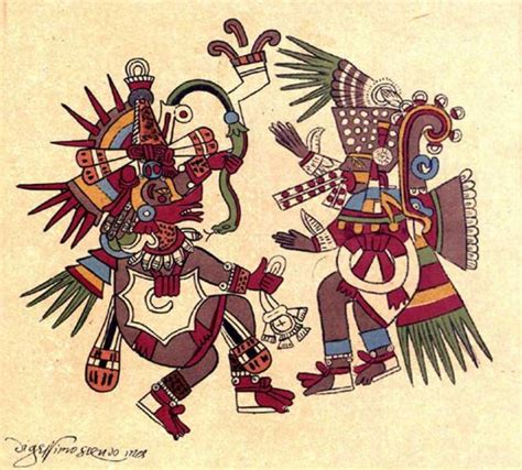 imagenes de dioses aztecas tezcatlipoca how does the supreme god of the aztecs