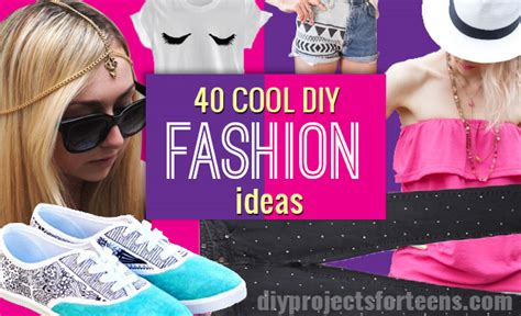 40 diy fashion ideas diy projects for