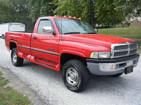 1995 dodge ram 2500 cab slt buy used 1995 dodge ram 2500 slt ext cab v 10 in