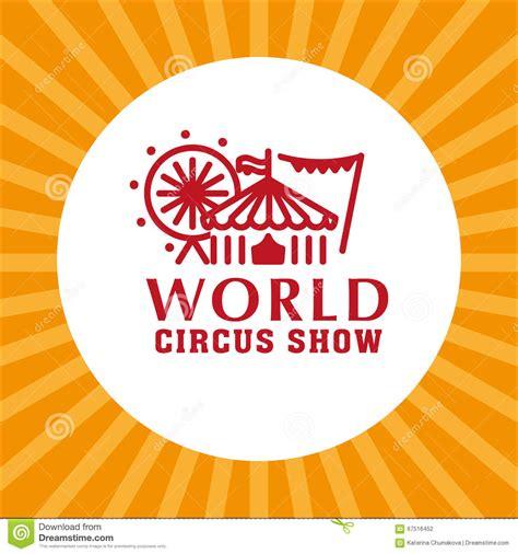 magic card template eps vector circus logo template stock vector illustration