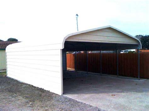 2 Vehicle Carport 2 Car Metal Carport Residential