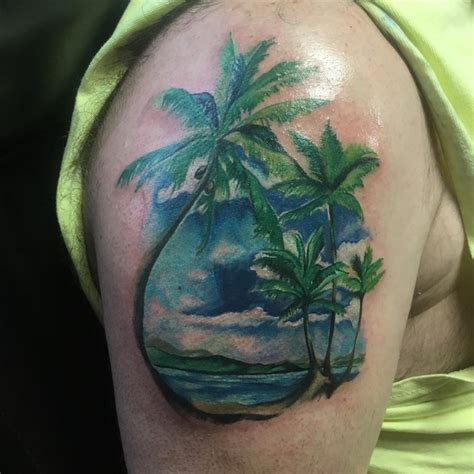 21 palm tree tattoo designs ideas design trends