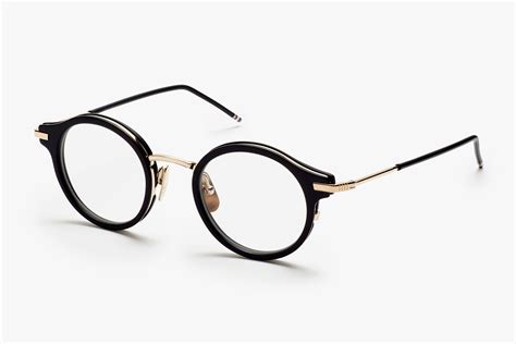 thom browne s eyewear frames are sleek modern