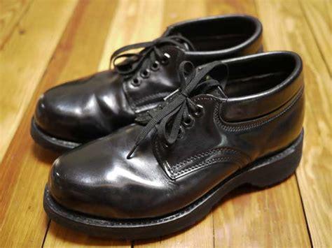 knapp shoes vtg knapp steel toe leather work ankle boots 6 d 38 5 ebay