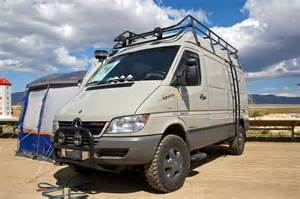 Mercedes Sprinter Conversion File Sprinter With A 4x4 Conversion Jpg Wikimedia Commons