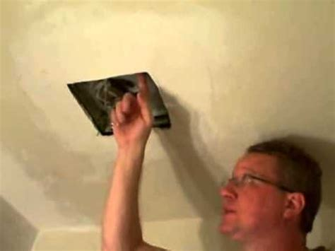 changing bathroom fan replace a bathroom fan broan fan youtube