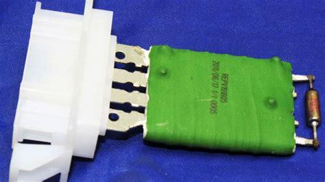 blower motor resistor vw rabbit vw rabbit resistor 2004 2008