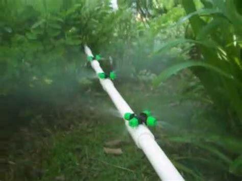 Garden Mister by Diy Mist Water System In Garden Lawn Misting