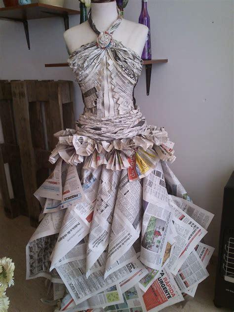 vestidos hechos con materiales reciclados un blog verde el blog de crocosmia vestido de novia reciclaje